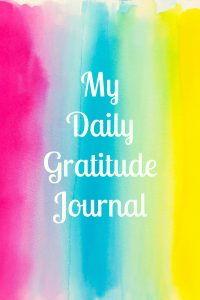 gratitude journal cover